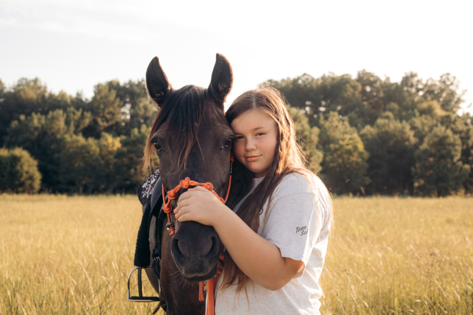 the healing power of horses at hooties horse haven Georgia