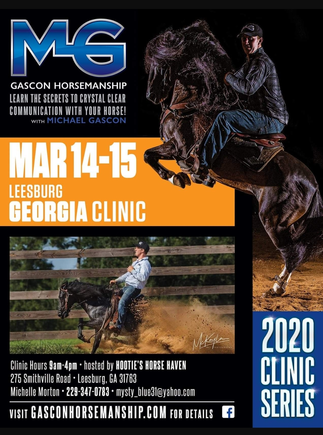 Hooties Horse Haven Equine Clinic with Michael Gascon